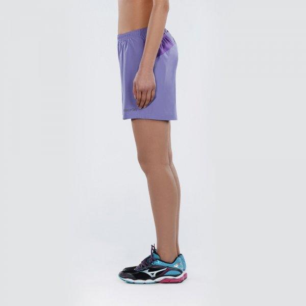 Pantaloncini Macron Kona Pro Run Boston Micro Donna Col.Lilla/Ciclamino