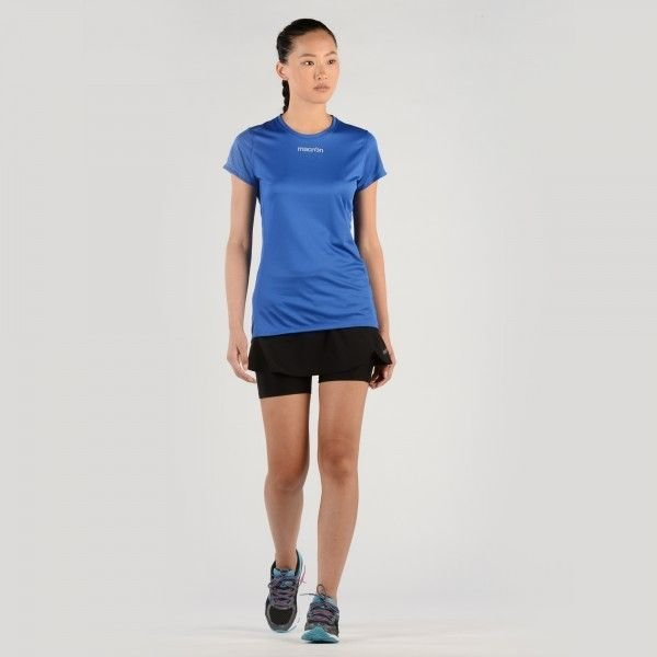 T-Shirt Macron Running Donna Col.Royal w247