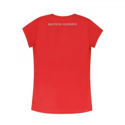 T-Shirt Macron Running Donna Col.Red w247