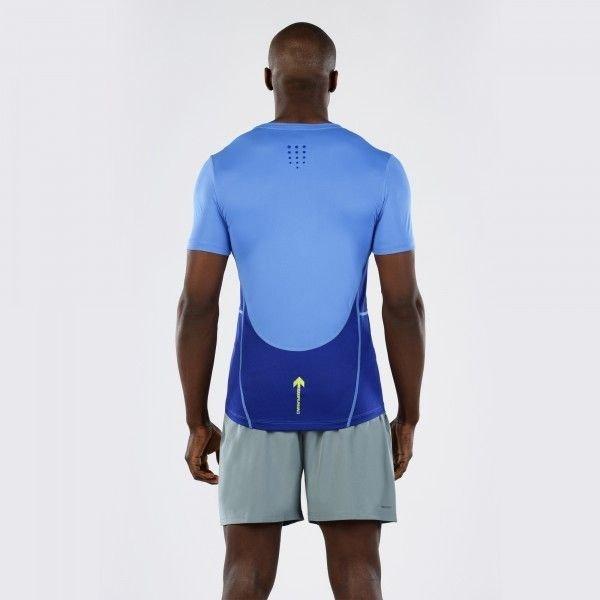 T-Shirt Macron Zephiro Pro Run Tech Uomo Col.Onda/Copy