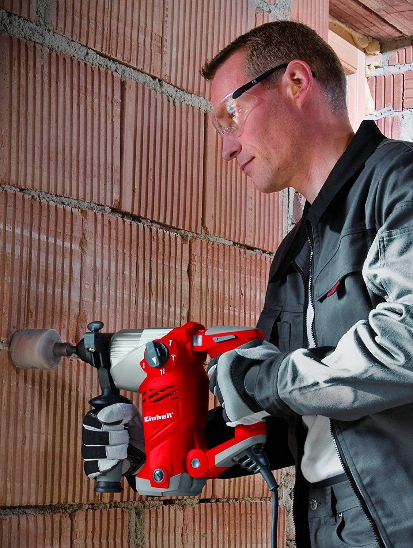 Martello tassellatore a 4 funzioni  TE-RH 32 E 1250 W EINHELL 4257940 Impulsi 4,100 min-1, potenza: 5.0 J, SDS-Plus, fermo girevole, con valigetta