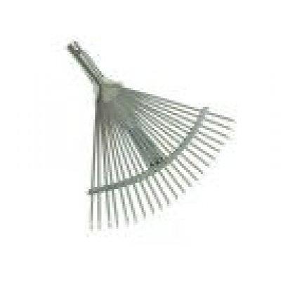 Rastrello per foglie apertura regolabile dente piatto attacco conico