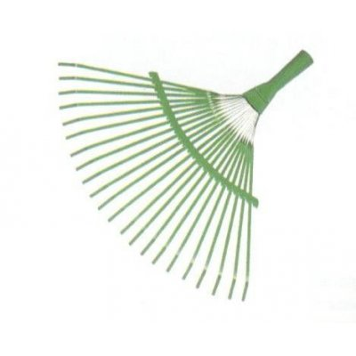 Scopa per foglie fissa senza manico attacco conico