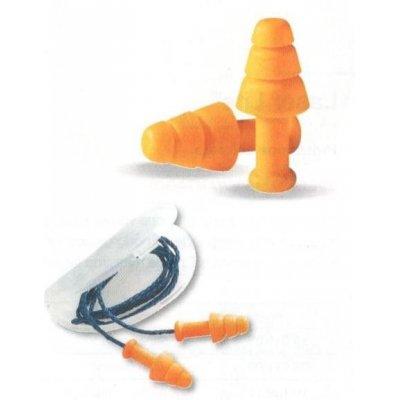 Tappi auricolari in gomma riutilizzabili con cordino SMARTFIT