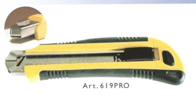 Cutter con lama a spezzzare mm 25 fermo automatico