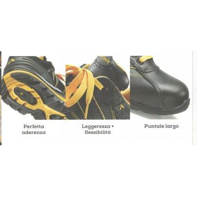 Scarpa protettiva bassa tipo sportivo in fiore bovino S3 HRO SRC NEW 222