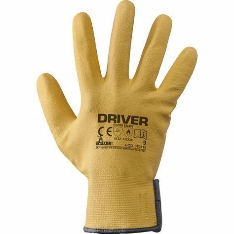 Guanto tecnico a filo continuo 100% nylon / nitrile DRIVER BOXER