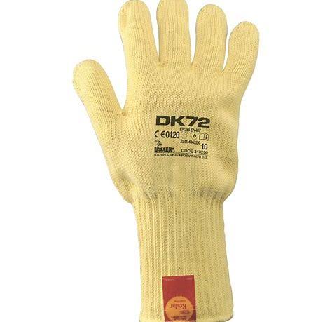 Guanto a filo continuo a doppio strato Kevlar®/ cotone DK 72 BOXER