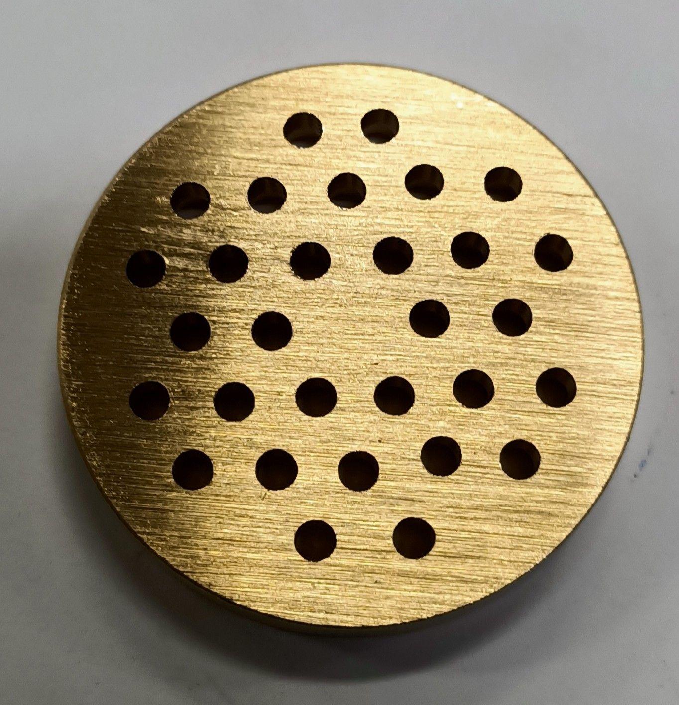 Trafila in ottone per bigoli per torchio n 5