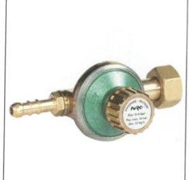 Regolatore GPL ad alta pressione capcità 12 Kg/h
