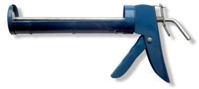 Pistola per silicone lamiera blu