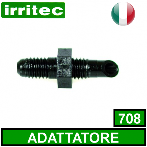 Innesto filettato per tubo capillare mm 4 IRRITEC