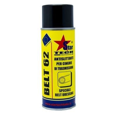 Antislittante per cinghie di trasmissione spray 400 ml BELT 62 STAR TECH