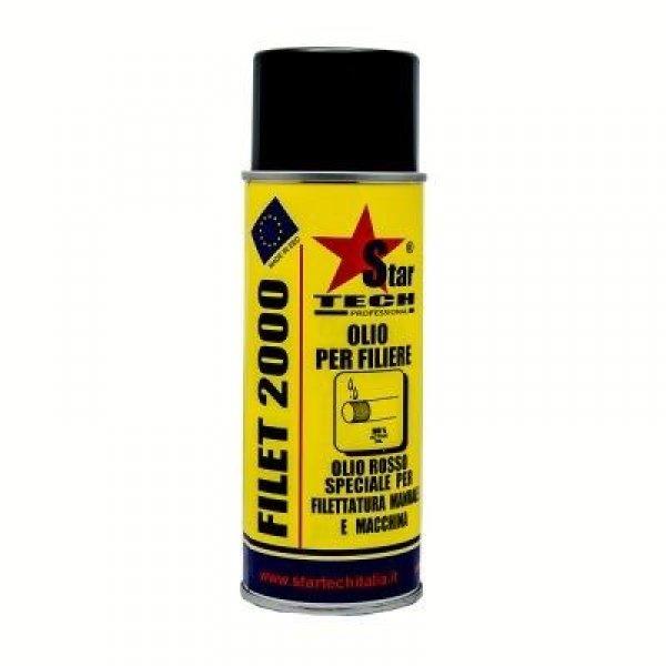 Olio per filiere spray 400 ml FILET 2000 STAR TECH