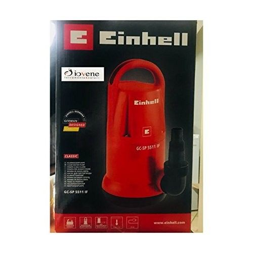 Pompa sommersa acque chiare GC-SP 5511 IF EINHELL 4170463