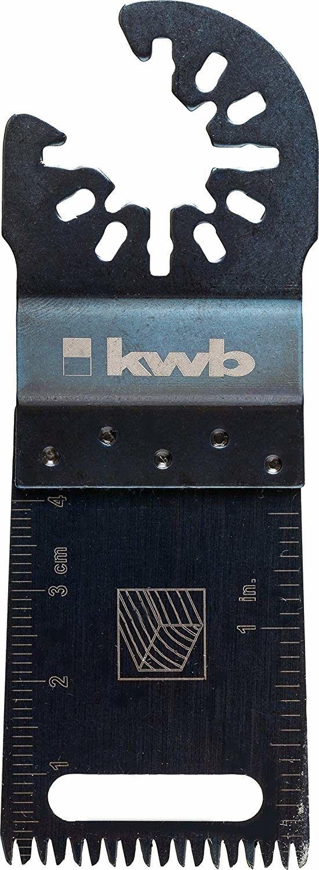 Lama per multifunzione con dentatura giapponese KWB 709194