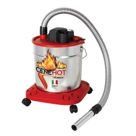 Aspiracenere CENEHOT per ceneri calde 950 W RIBIMEX Made in Italy