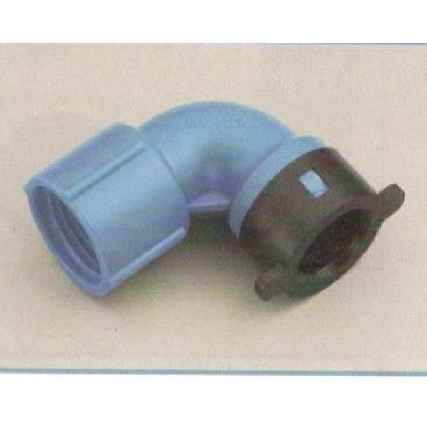 "Gomito per tubo BLU-LOCK mm 16 X F 1/2"""