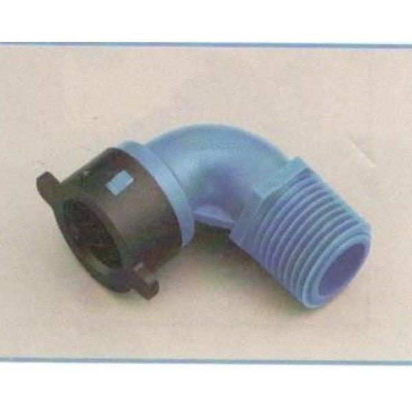 """Gomito per tubo BLU-LOCK mm 16 X M 3/4"""""""