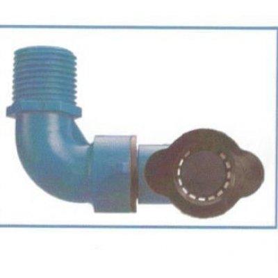 """Gomito snodato orientabile  per tubo BLU-LOCK mm 16 X M 3/4"""""""