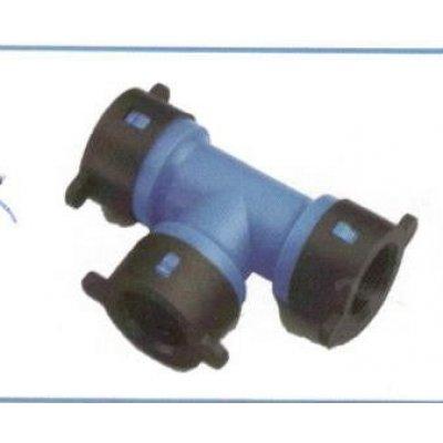 Raccordo a Ti per tubo BLU-LOCK mm 16 X 16 x 16