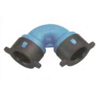Gomito per tubo BLU-LOCK mm 16 X 16