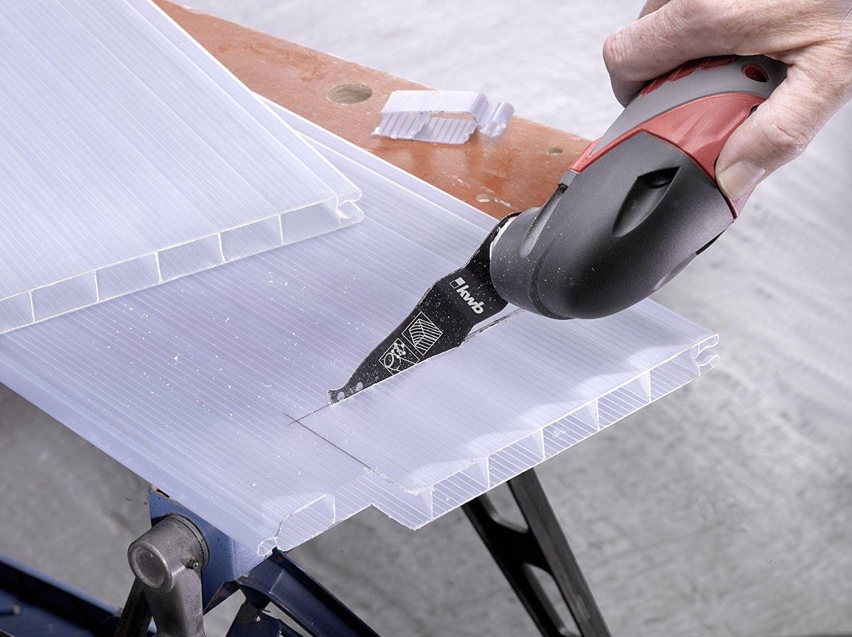 Lama da taglio legno plastica e cartogesso CV KWB 708450