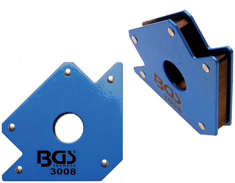 Squadra magnetica massimo 22 Kg BGS