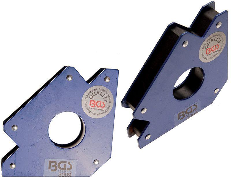 Squadra magnetica massimo 33 Kg BGS