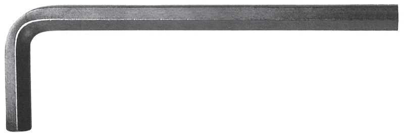 Chiave a brugola brunita mm 10 lunghezza mm 112x40 FERMEC 911-10