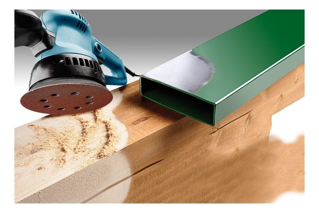 Dischi abrasivi, legno e metallo, autoadesivi, diametro 125mm, forata KWB 491970