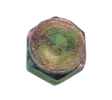 Tappo per bombola GPL filetto F 20x14 chiave 25 mm