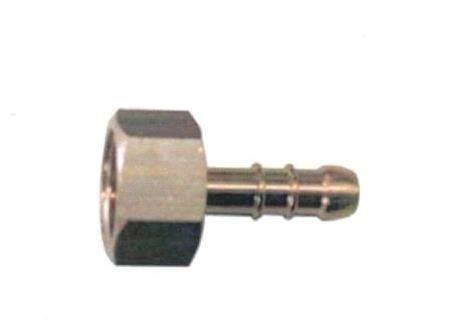 "Portagomma ottone per GPL F 1/4"" x 9 mm"