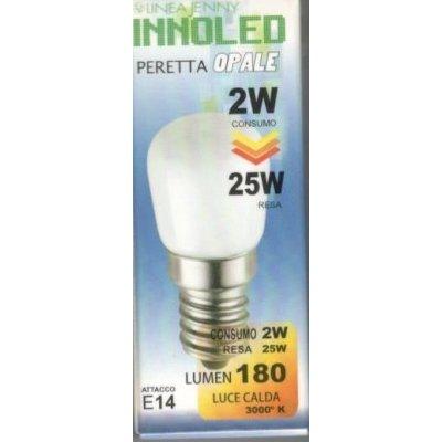 Lampadina LED PERETTA OPALE 2w E14 Luce calda 3000 K