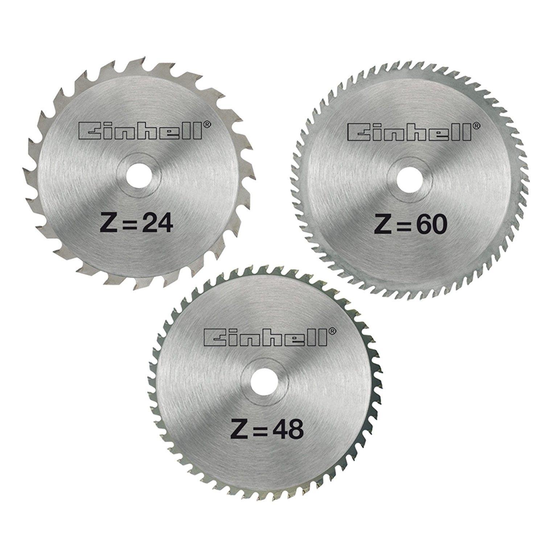 Set 3 Lame per Seghe, 210 x 30 x 2.5 mm Einhell 4502132