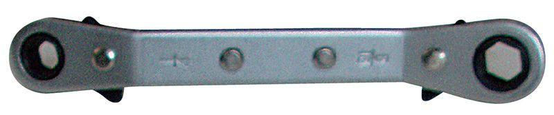Cricchetto porta inserti doppio piegato magnetico reversibile FERMEC