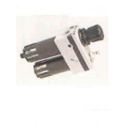 """Gruppo filtro regolatore + lubrificatore (2pz) a tazze protette da 1/2"""" FM56"""