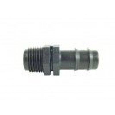 """Portagooma plastica per tubo gocciolante M 1/2"""" x 16 mm"""