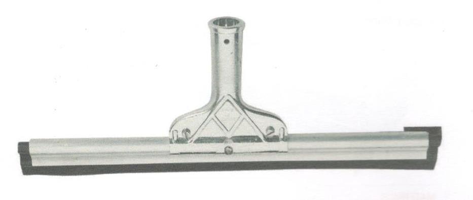 Spatolone spingiacqua/stendimalta in gomma dura supporto alluminio cm 55