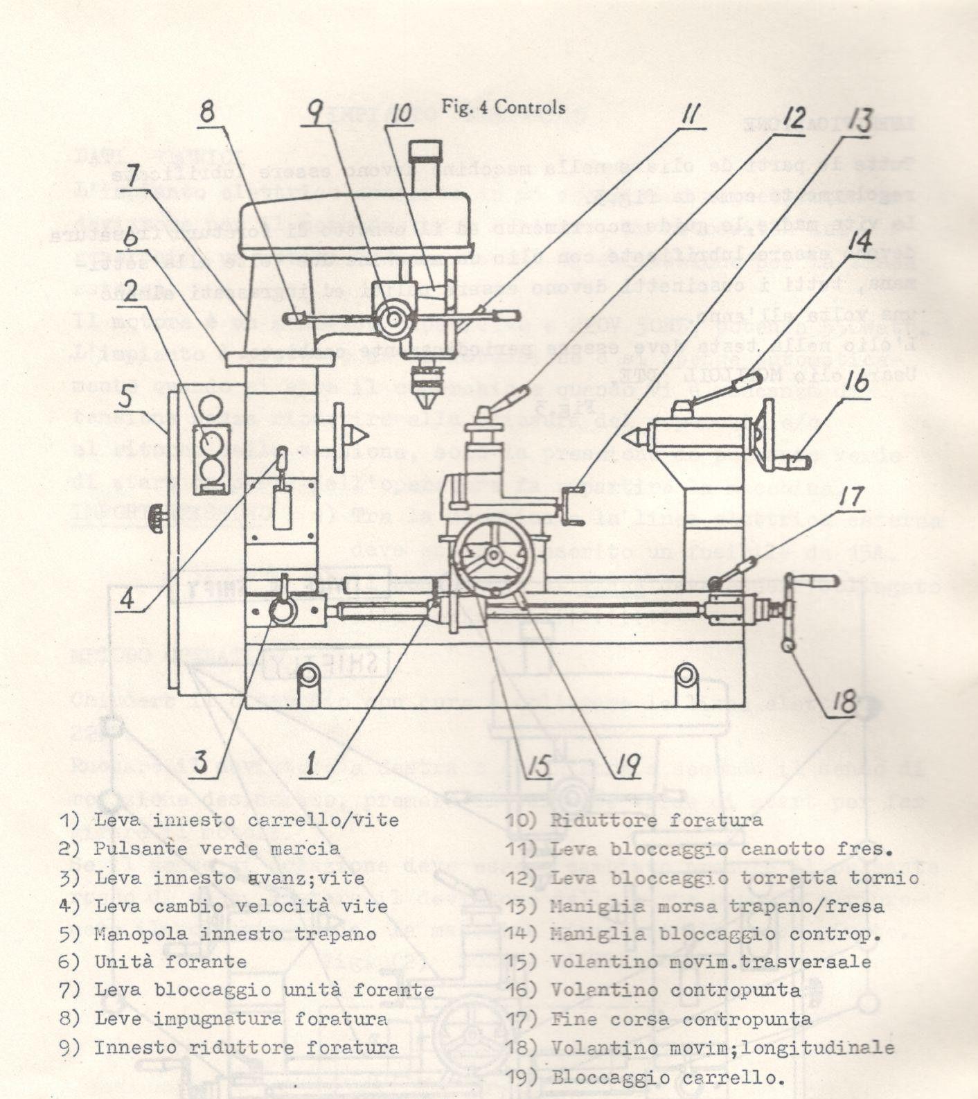 Tornio combinato trapano fresa AXEL MT0490