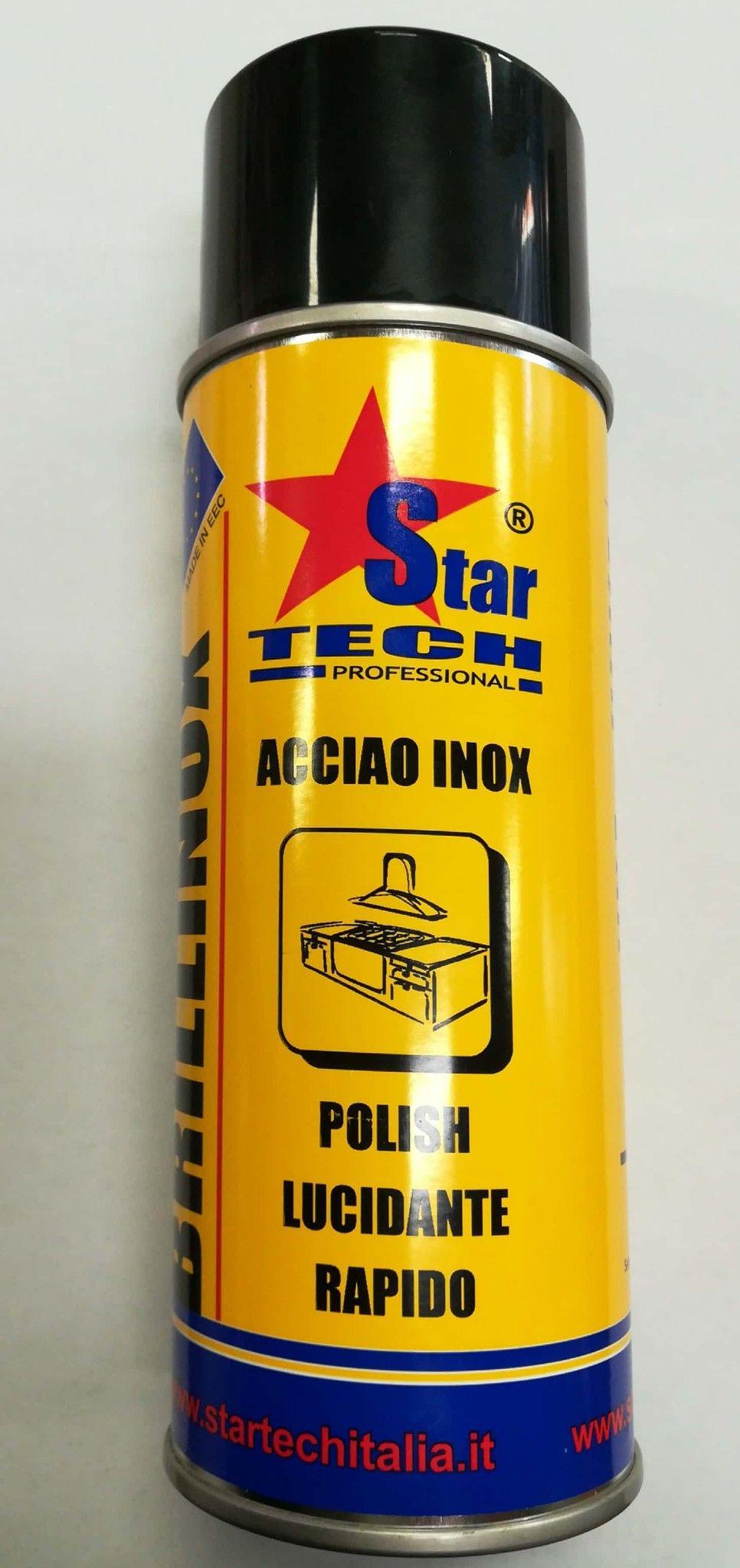 Pulitore lucidante rapido BRILLINOX spray ml 400