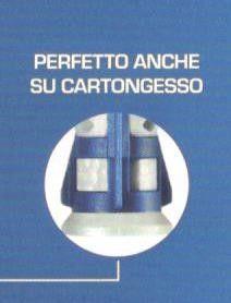 Tassello bi-materiale BLUEFIX mm 8 X 50 confez. pz 50