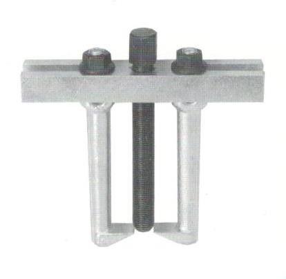 Estrattore a due griffe mm 100 per esterni e per interni in acciaio forgiato
