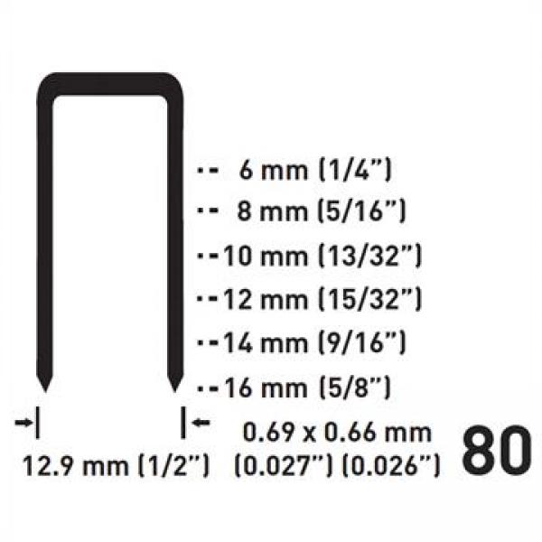 Fissatrice pneumatica serie 80 FERVI
