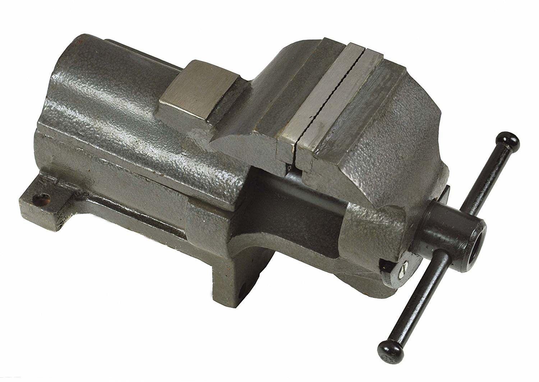 Morsa parallela in ghisa mm 100 ganasce in acciaio modello Italia