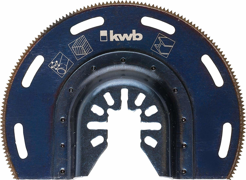 Lama semitonda per utensile multifunzione KWB  709450
