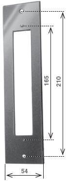 Avvolgitore semincasso tipo SECCO mm 212 mt 6,0