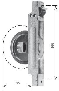 Avvolgitore semincasso tipo SECCO mm 212 mt 10,0