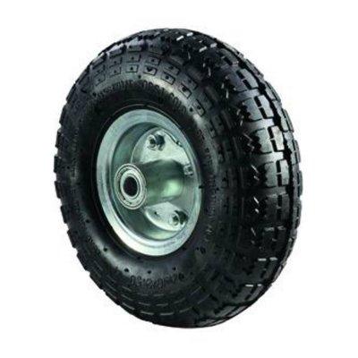 Ruota pneumatica perno eccentrico mm 260 foro 16