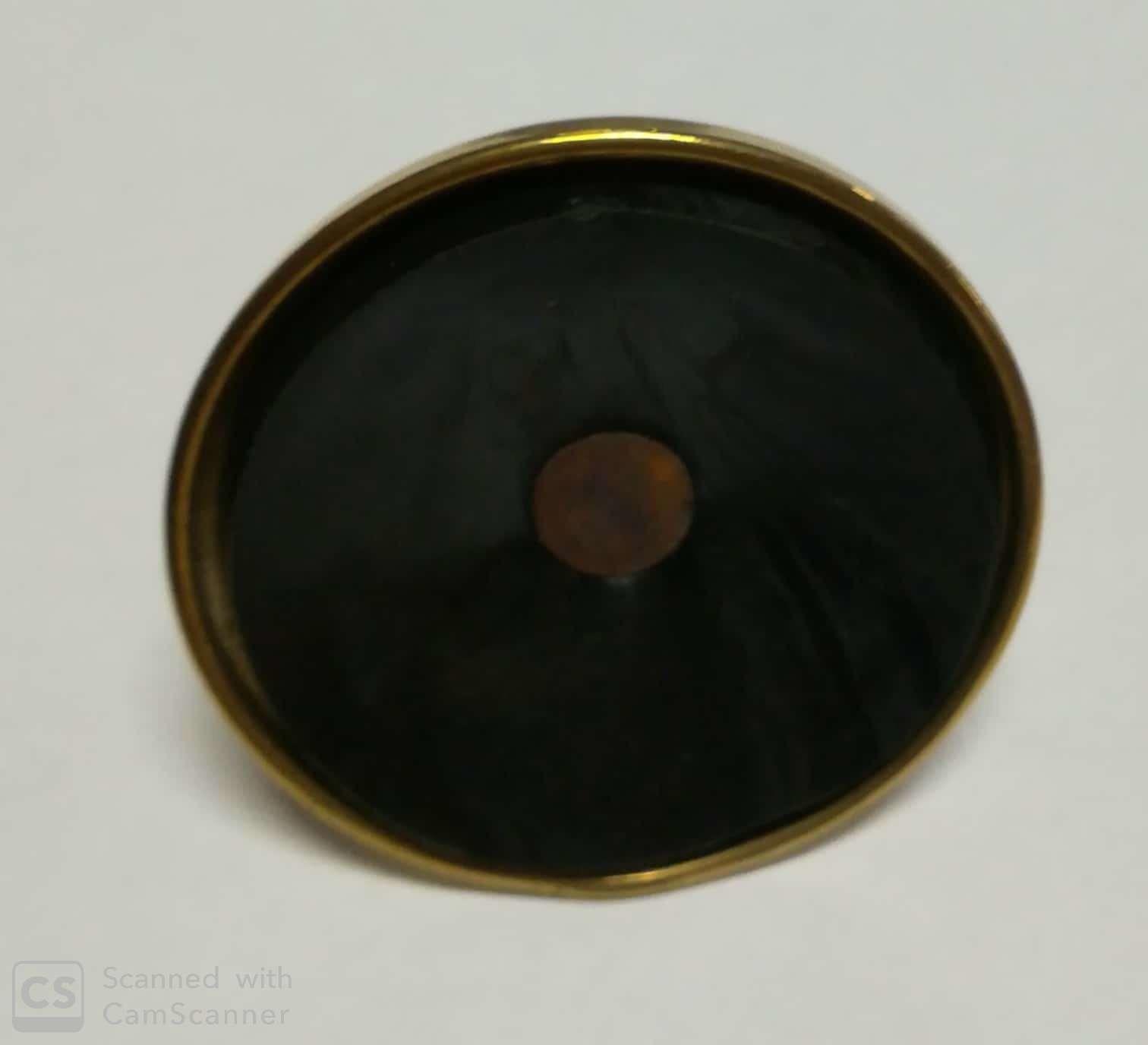 Piedino ottone 10 MA x 60 mm con gomma  registrabile